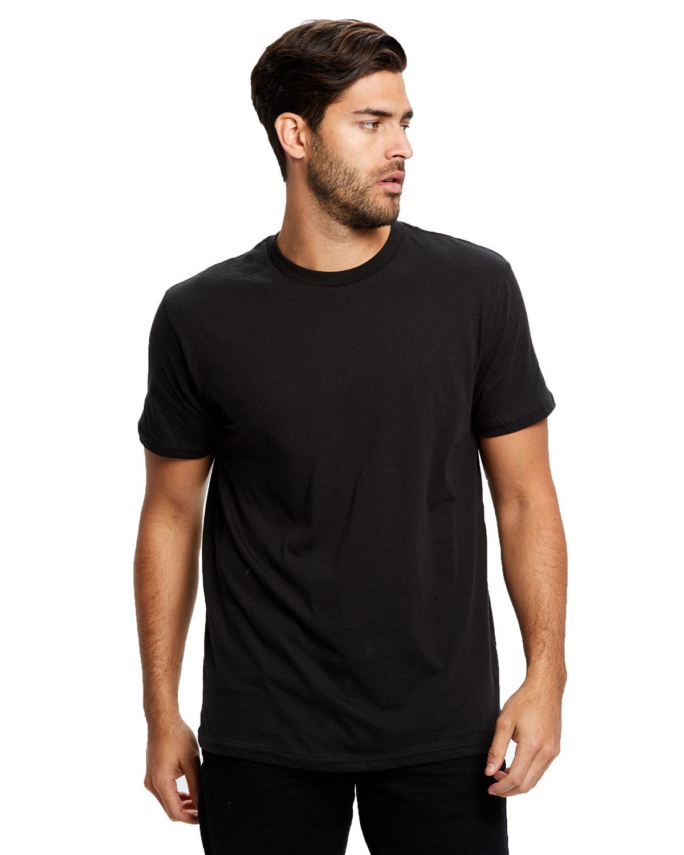 US Blanks Men's Made in USA Short Sleeve Crew T-Shirt BLACK