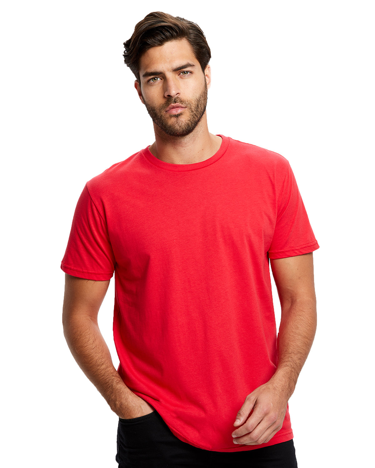 US Blanks Men's Made in USA Short Sleeve Crew T-Shirt RED