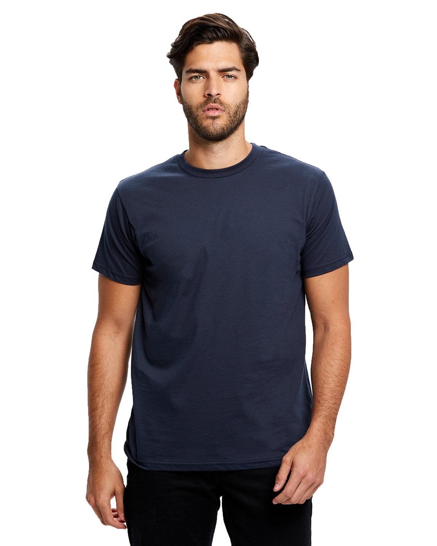 US Blanks Men's Made in USA Short Sleeve Crew T-Shirt NAVY BLUE