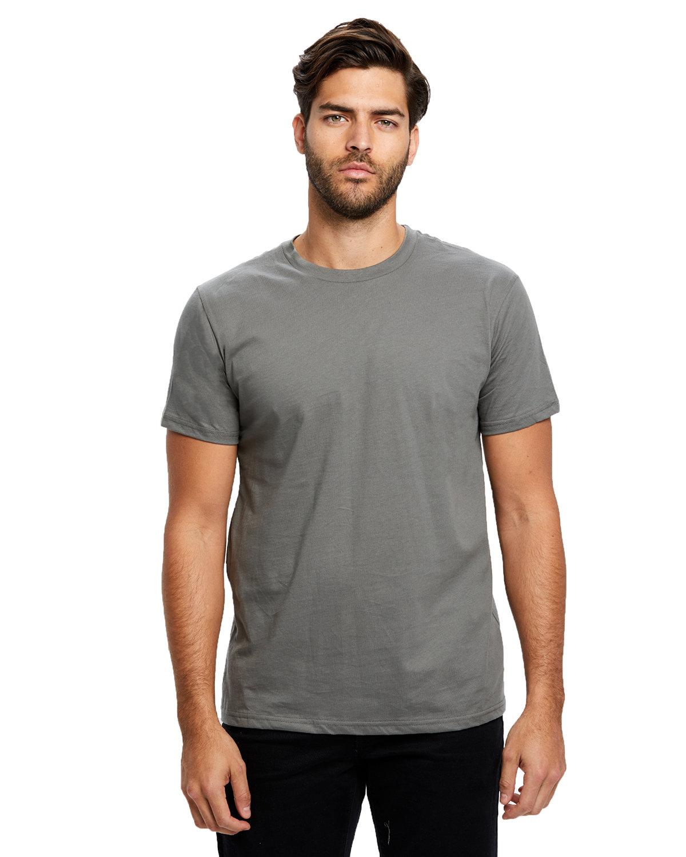 US Blanks Men's Made in USA Short Sleeve Crew T-Shirt ASPHALT
