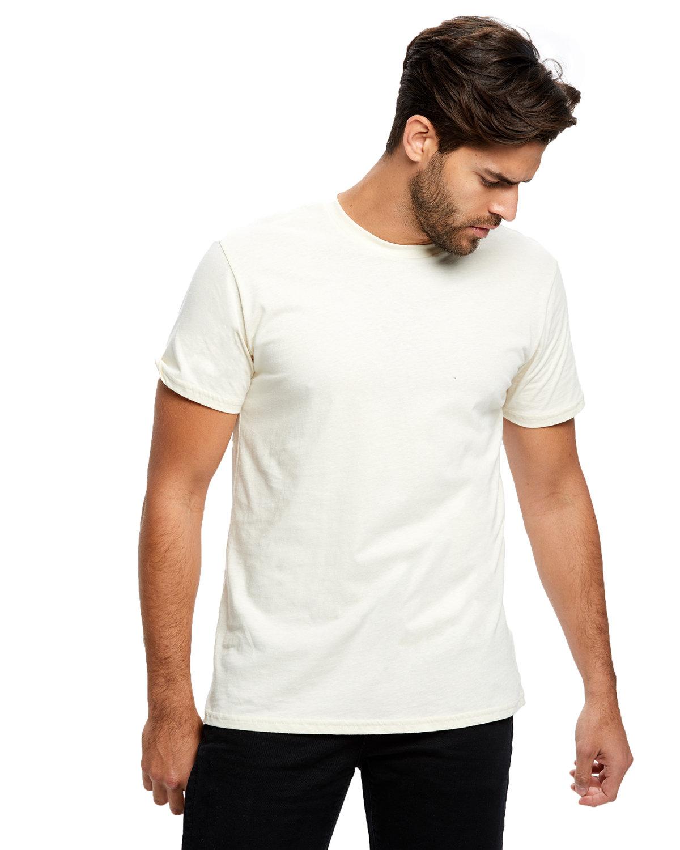 US Blanks Men's Made in USA Short Sleeve Crew T-Shirt CREAM
