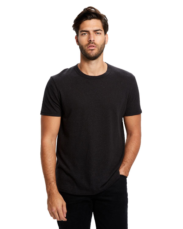 US Blanks Men's Hemp Crewneck T-Shirt BLACK