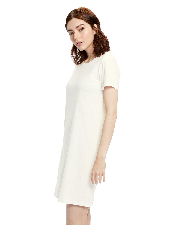 US Blanks Ladies' Cotton T-Shirt Dress CREAM