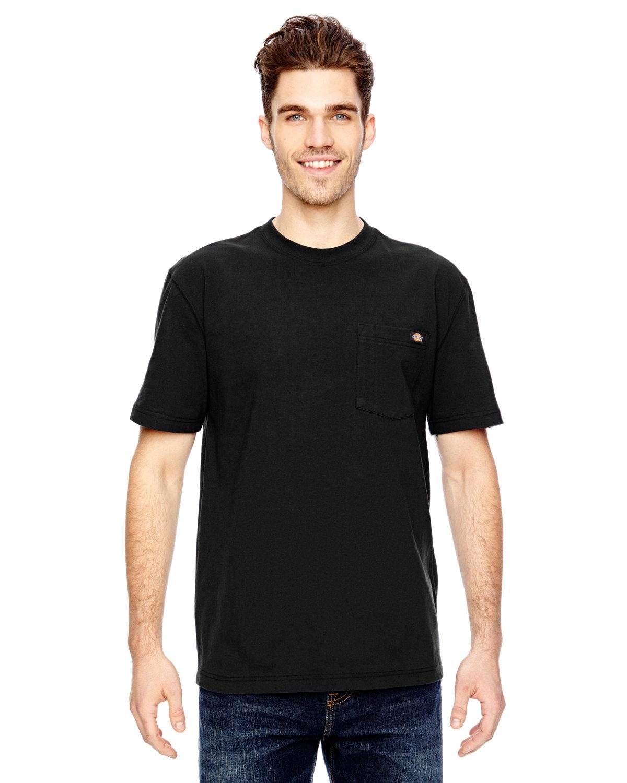 Dickies Unisex Short-Sleeve Heavyweight T-Shirt BLACK