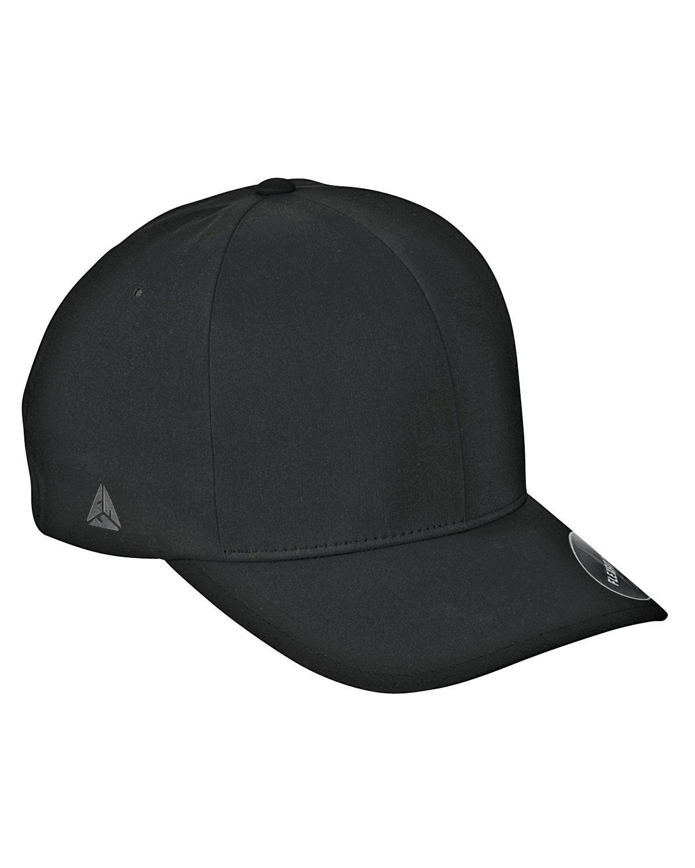Flexfit Adult Delta X-Cap BLACK