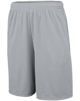 Augusta Drop Ship Adult Training Short with Pockets
