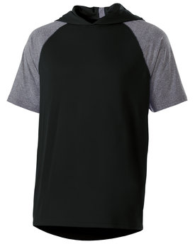 Holloway Unisex Dry-Excel™ Echo Short-Sleeve Hooded T-Shirt