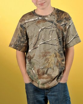 Code Five Youth Realtree Camo T-Shirt