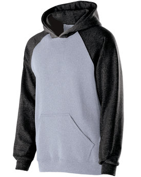 Holloway Youth Cotton/Poly Fleece Banner Hoodie
