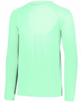 Augusta Drop Ship Adult Attain Wicking Long-Sleeve T-Shirt