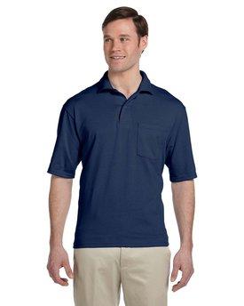 Jerzees Adult SpotShield™ Pocket Jersey Polo
