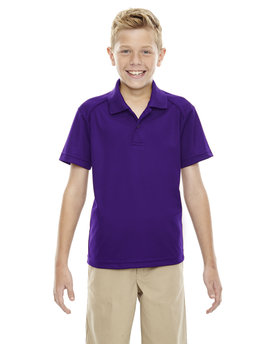 Extreme Youth Eperformance™ Shield Snag Protection Short-Sleeve Polo