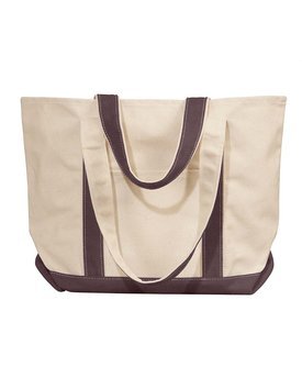 Liberty Bags Windward Large Cotton Canvas Classic Boat Tote