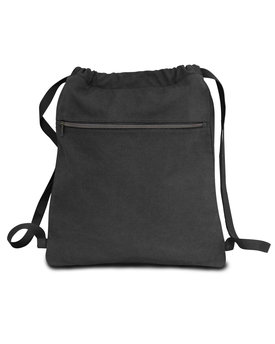Liberty Bags Seaside Cotton Pigment Dyed Drawstring Bag
