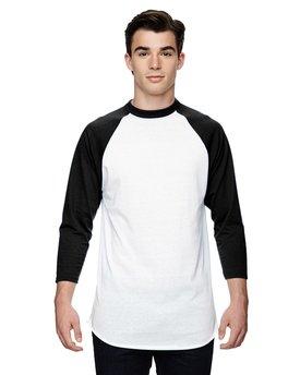 Augusta Sportswear Adult 3/4-Sleeve Baseball Jersey