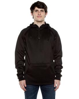 Beimar Drop Ship Unisex 9 oz. Polyester Air Layer Tech Quarter-Zip Hooded Sweatshirt
