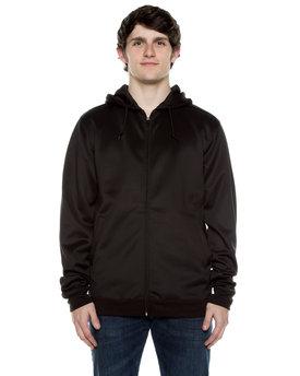 Beimar Drop Ship Unisex 9 oz. Polyester Air Layer Tech Full-Zip Hooded Sweatshirt