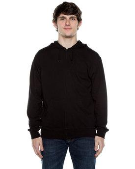 Beimar Drop Ship Unisex 4.5 oz. Jersey Long-Sleeve Full-Zip Hooded T-Shirt