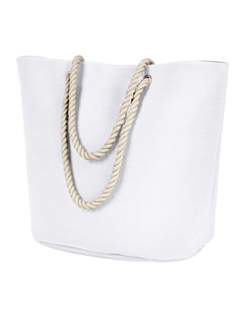 BAGedge Polyester Canvas Rope Tote