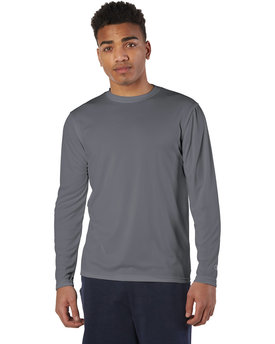 Champion Adult 4.1 oz. Double Dry® Long-Sleeve Interlock T-Shirt
