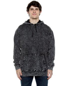 Beimar Drop Ship Unisex 8.25 oz. 80/20 Cotton/Poly Acid Washed Hooded Sweatshirt