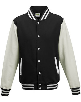 Just Hoods By AWDis Youth 80/20 Heavyweight Letterman Jacket