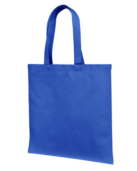 Liberty Bags 12 oz., Cotton Canvas Tote Bag With Self Fabric Handles