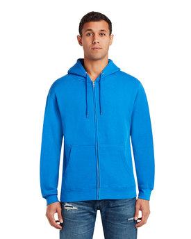Lane Seven Unisex Premium Full-Zip Hooded Sweatshirt