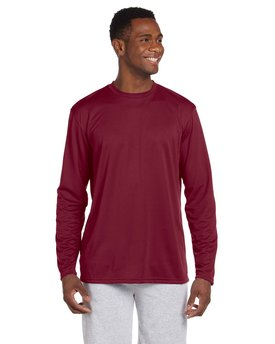 Harriton Adult 4.2 oz. Athletic Sport Long-Sleeve T-Shirt