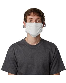 Hanes Adult Polyester Adjustable Pocket Mask