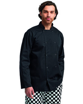Artisan Collection by Reprime Unisex Studded Front Long-Sleeve Chef