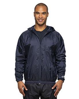 Rawlings Drop Ship Adult Nylon Taffeta Hooded Coaches Jacket