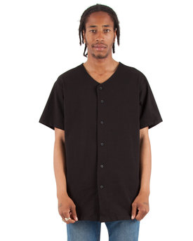 Shaka Wear Drop Ship Adult 7.5 oz., 100% US Cotton Baseball Jersey