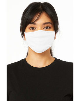 Bella + Canvas Adult 2-Ply Reusable Face Mask