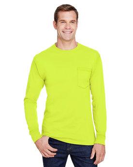 Hanes Adult Workwear Long-Sleeve Pocket T-Shirt