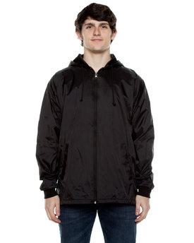 Beimar Drop Ship Unisex Nylon Full Zip Hooded Jacket