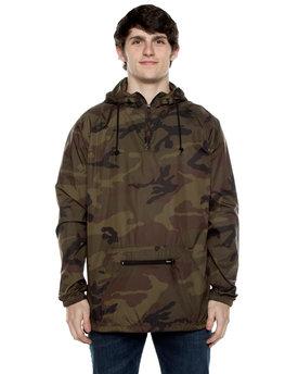 Beimar Drop Ship Unisex Nylon Packable Pullover Anorak Jacket