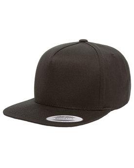 Yupoong Adult 5-Panel Cotton Twill Snapback Cap