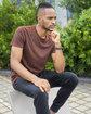 Threadfast Apparel Unisex Cross Dye Short-Sleeve T-Shirt  Lifestyle