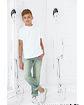 Sublivie Youth Sublimation T-Shirt  Lifestyle