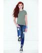 LAT Girls' Fine Jersey T-Shirt  Lifestyle