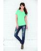 LAT Ladies' V-Neck Fine Jersey T-Shirt  Lifestyle