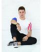 Code Five Men's Stars & Stripes T-Shirt  Lifestyle