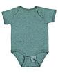 Rabbit Skins Infant Fine Jersey Bodysuit ICE BLACKOUT ModelQrt