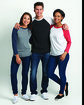 Next Level Unisex Triblend 3/4-Sleeve Raglan  Lifestyle