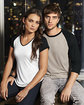 Anvil Adult Triblend 3/4-Sleeve Raglan T-Shirt  Lifestyle