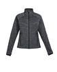 North End Ladies' Flux Mélange Bonded Fleece Jacket  OFFront