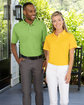 UltraClub Men's Cool & Dry Stain-Release Performance Polo  Lifestyle