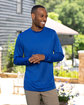 UltraClub Men's Cool & Dry Performance Long-Sleeve Top  Lifestyle