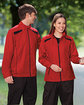 North End Men's Tempo Lightweight Recycled Polyester Jacket with Embossed Print  Lifestyle